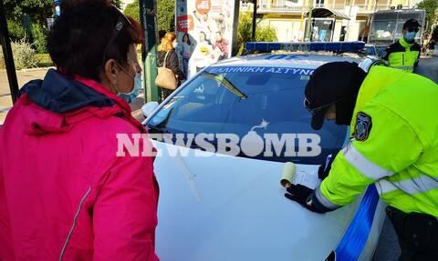 Ρεπορτάζ Newsbomb.gr - Κορονοϊός: Σαρωτικοί έλεγχοι στην Αθήνα για παραβάσεις