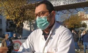 Κορονοϊός – Νταφούλης: Τραγική η κατάσταση στο Γενικό Νοσοκομείο Λάρισας