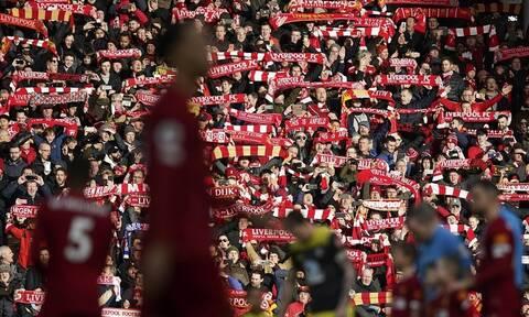Κορονοϊός - Premier League: Με κόσμο η πρωταθλήτρια Λίβερπουλ – Κεκλεισμένων στο Μάντσεστερ!