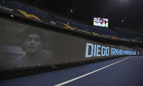 Europa League: Συγκλονιστικές σκηνές στον αγώνα της Νάπολι για τον Μαραντόνα