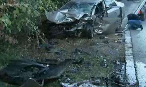 Τραγωδία στη Θεσσαλονίκη: Νεκρός οδηγός σε φρικτό τροχαίο