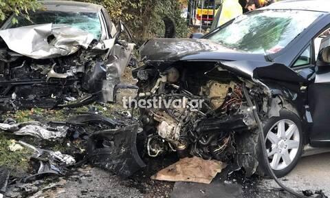 Τραγωδία στη Θεσσαλονίκη: Νεκρός και ο δεύτερος οδηγός στο φρικτό τροχαίο
