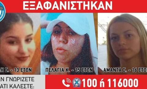 Ρεπορτάζ Newsbomb.gr: Θρίλερ στην Αγία Παρασκευή με την τρίτη εξαφάνιση των ανήλικων κοριτσιών
