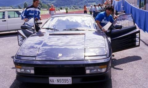 Ντιέγκο Μαραντόνα: Τα αυτοκίνητα της ζωής του - Η ιστορία της σπάνιας μαύρης Ferrari