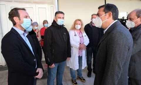 Τσίπρας από Δράμα: Τεράστιες ευθύνες για τις σκηνές βόρειας Ιταλίας - Να σταματήσουν να πανηγυρίζουν