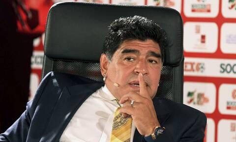Ο Έλληνας παίκτης που είχε... πρόεδρο τον Μαραντόνα (photos)