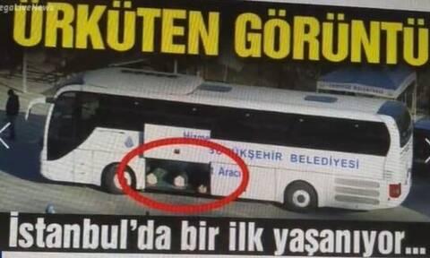 Τουρκία - Κορονοϊός: Συγκλονιστικές εικόνες από στοιβαγμένα φέρετρα με θύματα του ιού σε λεωφορείο