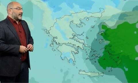 Καιρός - Αρναούτογλου: Ερχονται διαδοχικά βαρομετρικά και ψυχρή εισβολή