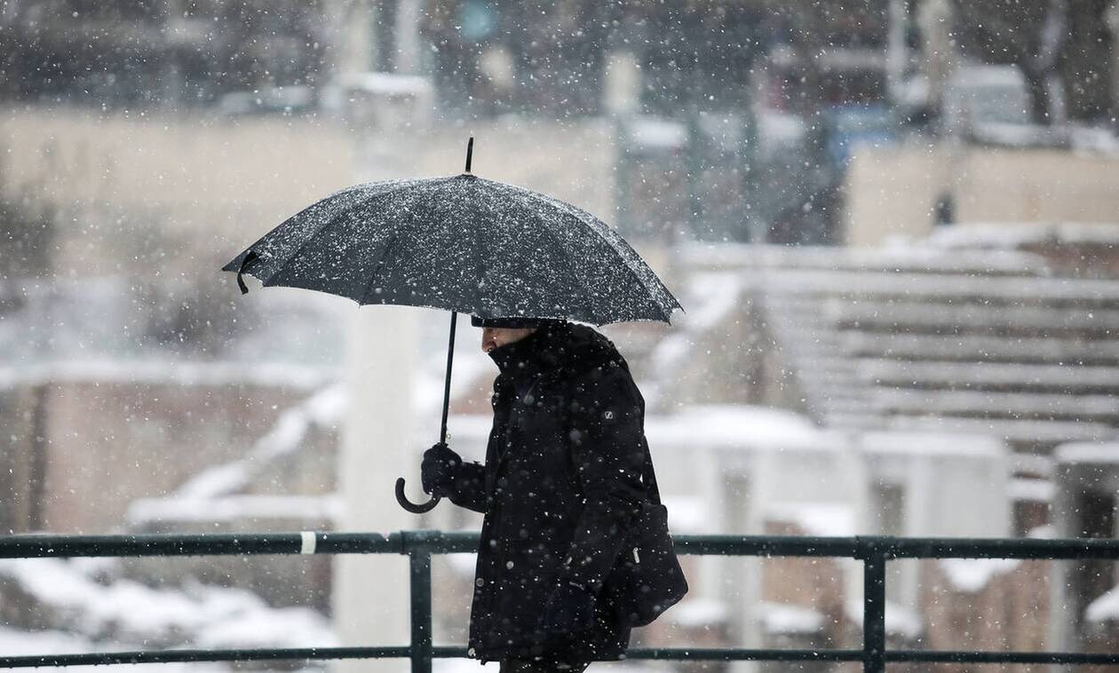 Καιρός: Άστατος ο καιρός το Σάββατο - Kακοκαιρία με χιονοπτώσεις από την Κυριακή