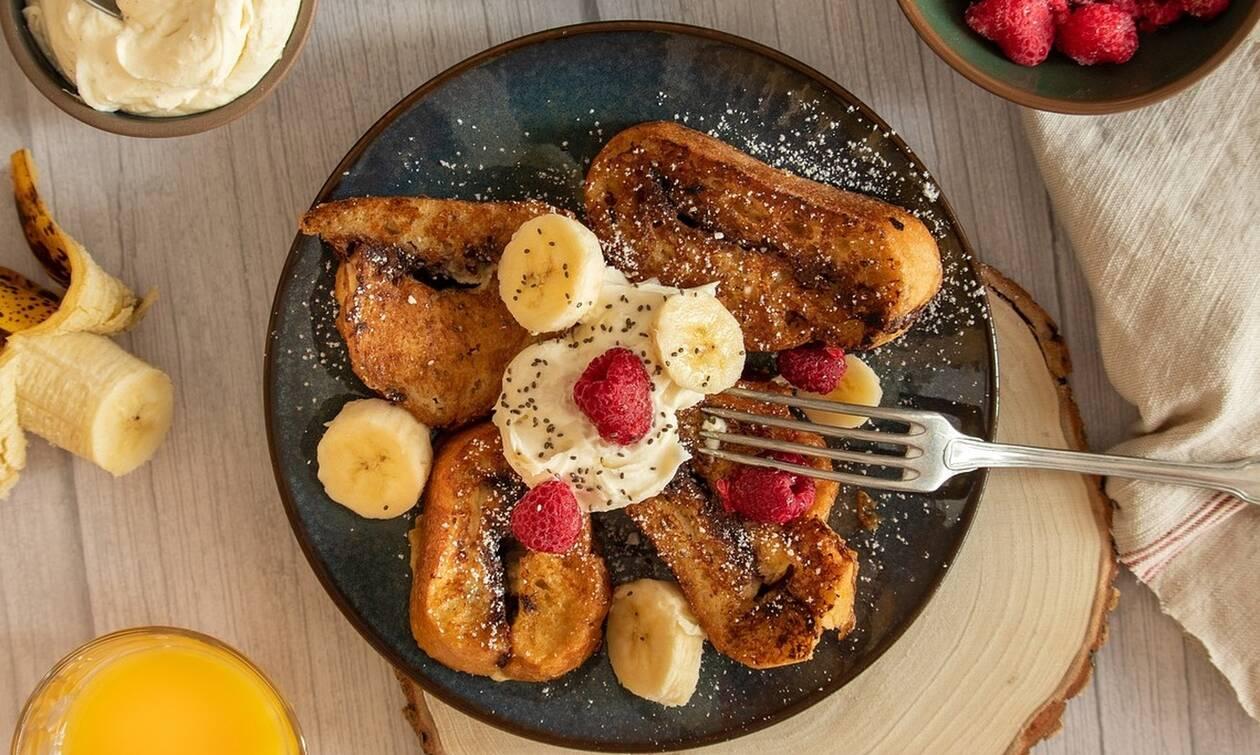 Η τέλεια συνταγή για french toast
