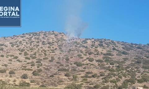 Συναγερμός στην Πυροσβεστική: Φωτιά ΤΩΡΑ στην Αίγινα