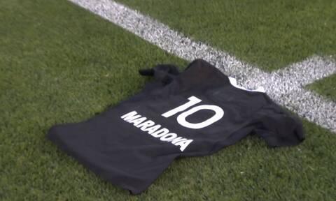 Ντιέγκο Μαραντόνα: Ο αποχαιρετισμός με «χάκα» της ομάδας ράγμπι της Νέας Ζηλανδίας (photos+video)