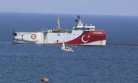 Oruc Reis: Τα χρειάστηκαν οι Τούρκοι - Βρήκαν μπροστά τους τον ελληνικό στόλο - ασπίδα
