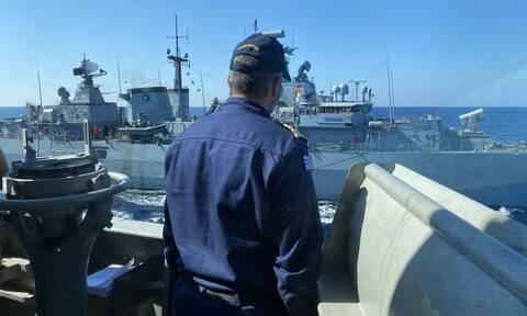 Μήνυμα στρατιωτικής ισχύος από Ελλάδα, Κύπρο και Αίγυπτο προς Τουρκία