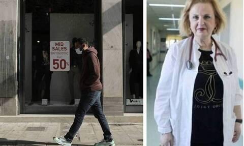 Παγώνη στο Newsbomb.gr: Γιατί δεν πέφτουν τα κρούσματα στη Θεσσαλονίκη - Κρίσιμη η ερχόμενη εβδομάδα
