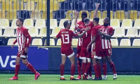 Super League: Τα highlights του Άρης - Ολυμπιακός κι η βαθμολογία (videos+photos)