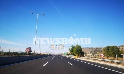 Ρεπορτάζ Newsbomb.gr: Απίστευτες εικόνες - «Ερήμωσε» η Εθνική Οδός Αθηνών- Κορίνθου