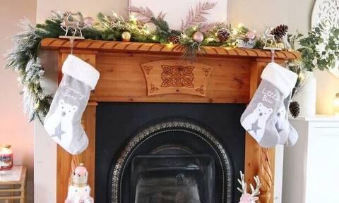 Ιδέες για να διακοσμήσετε το τζάκι σας φέτος τα Χριστούγεννα