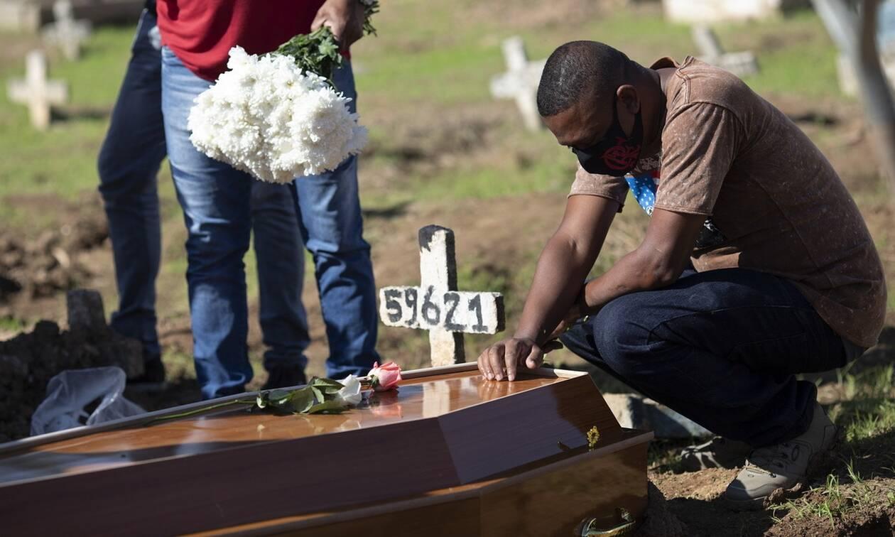 Κορονοϊός στη Βραζιλία: 24.468 νέα κρούσματα και 272 θάνατοι σε 24 ώρες