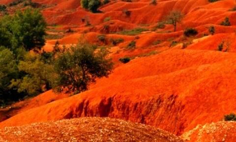 Σε ποιο μέρος της Ελλάδας βρίσκεται αυτό το υπέροχο τοπίο;