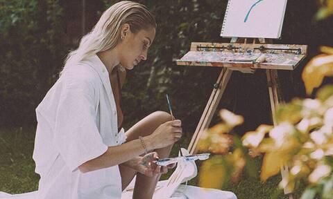 H ξανθιά οπτασία είναι η απόλυτη... ζωγραφιά! (pics)