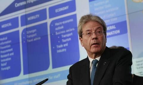 ΕΕ - Τζεντιλόνι: «Καλά τα νέα τα οποία άξιζε η Ελλάδα παρά τη δύσκολη κατάσταση»