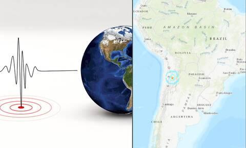 Ισχυρός σεισμός 6,3 Ρίχτερ στην Αργεντινή
