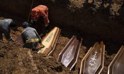 Κορονοϊός - Αναζωπύρωση του δείκτη θνητότητας στη Βραζιλία: Ξεπέρασαν τους 173.000 οι νεκροί