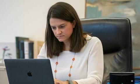 Να τι κάνει με τους γιους της στην καραντίνα η υπουργός Παιδείας (pics)