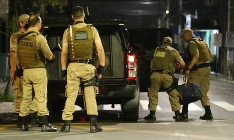 Βραζιλία: Τρόμος στους δρόμους - Πυροβολισμοί, εκρήξεις και καταδίωξη μετά από ληστεία τράπεζας