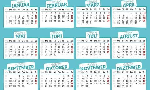 Αργίες 2021: Πότε «πέφτουν» - Δείτε ΕΔΩ όλα τα τριήμερα της νέας χρονιάς