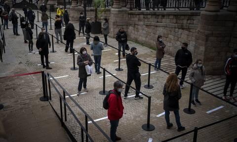 Κορονοϊός στην Ισπανία: 8.257 κρούσματα και 442 θάνατοι σε 24 ώρες