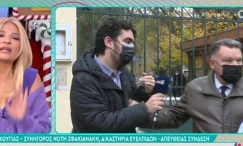 Χαμός στο πλατό: Ο Κούγιας έφυγε από την εκπομπή της Σκορδά (video)