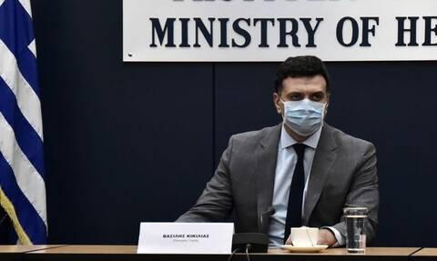 Κορονοϊός – LIVE: Ενημέρωση από τον υπουργό Υγείας και από στέλεχος του ΠΟΥ για την πανδημία