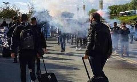 Europa League - ΠΑΟΚ: Παράνομη συνάθροιση ερευνά η Αστυνομία στην υποδοχή του! (video)