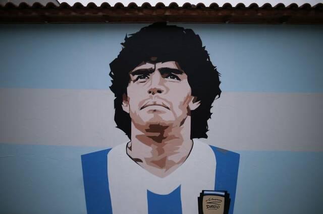 grafiti maradona