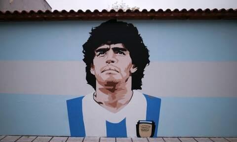 «Μύλος» με γκράφιτι του Ντιέγκο Μαραντόνα στην Καλαμαριά – Οι αντιδράσεις κι η θέση του Δήμου
