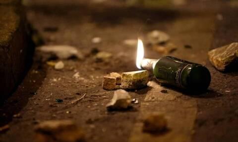 Θεσσαλονίκη: Επίθεση με βόμβες μολότοφ στο Αστυνομικό Τμήμα Θερμαϊκού