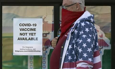 Κορονοϊός: +30% στα κρούσματα στην αμερικανική ήπειρο τον Νοέμβριο