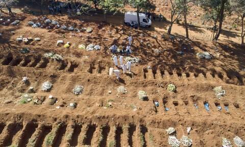 Κορονοϊός στη Βραζιλία: Ξεπέρασαν τους 174.500 οι θάνατοι - Πάνω από 6,43 εκατ. τα κρούσματα
