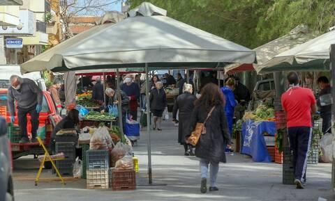 Πληρωμές 7,1 εκατ. ευρώ σε 7.966 δικαιούχους παραγωγούς πωλητές σε λαϊκές αγορές