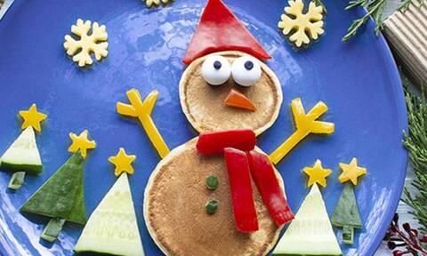 Αρχίστε από τώρα να φτιάχνετε αυτά τα χριστουγεννιάτικα pancakes