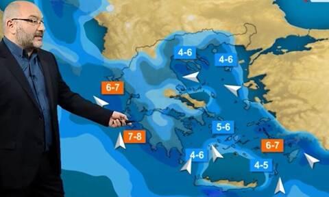 Καιρός - Αρναούτογλου: Νέο κύμα κακοκαιρίας! Πού θα χιονίσει σήμερα; (Video)
