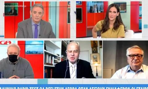 Κορονοϊός - Κίττας: Πότε θα βγει το ελληνικό rapid test στην αγορά