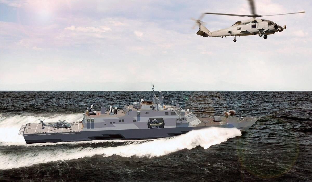 multi mission combat ship