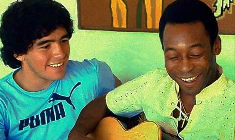 Ντιέγκο Μαραντόνα: Συγκινεί ξανά ο Πελέ - «Σε αγαπώ»