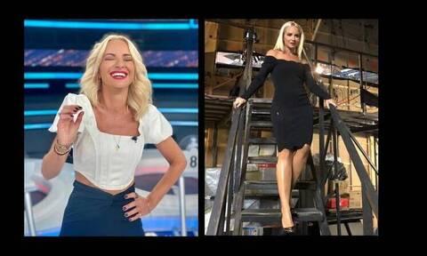Μαρία Μπεκατώρου: Έχει μείνει μισή! Η νέα της εικόνα μετά την απώλεια 9 κιλών!