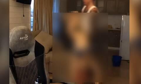 ΣΟΚ: Blogger σέρνει σε live μετάδοση το πτώμα της κοπέλας του