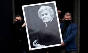 Прощание с президентом Пушкинского музея Ириной Антоновой