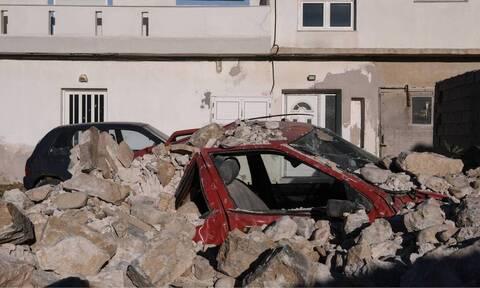 Νέο βίντεο από τον σεισμό στη Σάμο: «Ραγίζουν καρδιές» από τις εικόνες καταστροφής